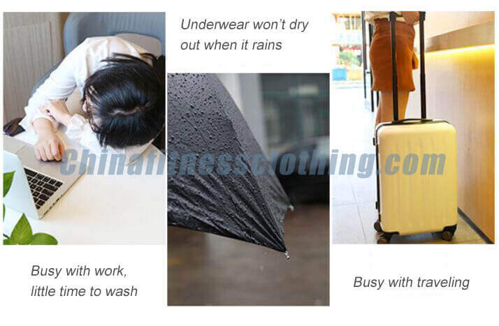 Applications of mens disposable underwear - Disposable Travel Underwear Wholesale - Custom Fitness Apparel Manufacturer