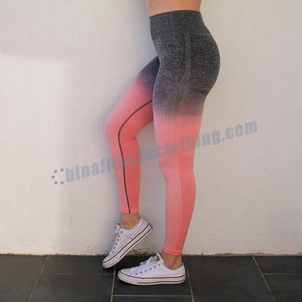 10 1 - Ombre Workout Leggings Wholesale - Custom Fitness Apparel Manufacturer