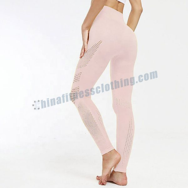 6 1 - Side Mesh Leggings Wholesale - Custom Fitness Apparel Manufacturer