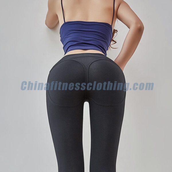 Black affordable squat proof leggings wholesale - Affordable Squat Proof Leggings Wholesale - Custom Fitness Apparel Manufacturer