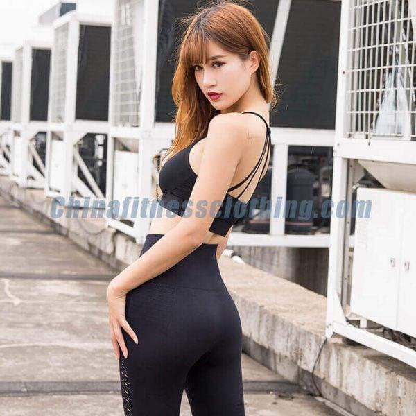 Black breathable sports bra wholesale - Breathable Sports Bra Wholesale - Custom Fitness Apparel Manufacturer
