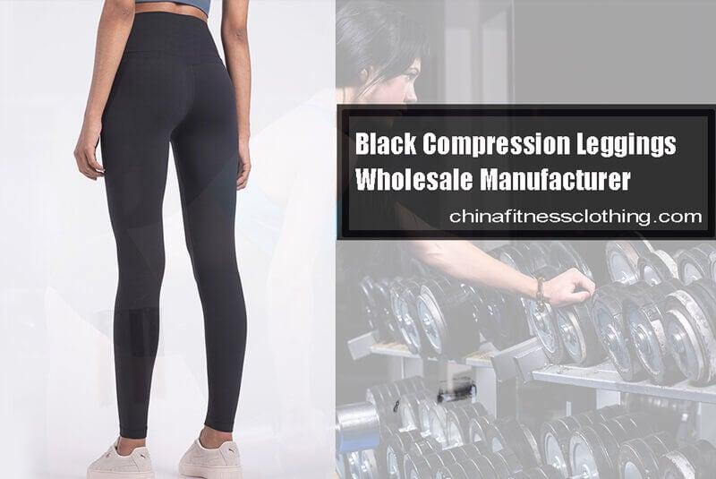 Black compression leggings high waist manufacturer - Black Compression Leggings Wholesale - Custom Fitness Apparel Manufacturer