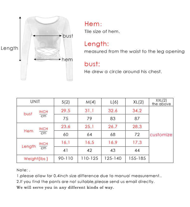Black short sleeve crop top size chart - Black Short Sleeve Crop Top - Custom Fitness Apparel Manufacturer