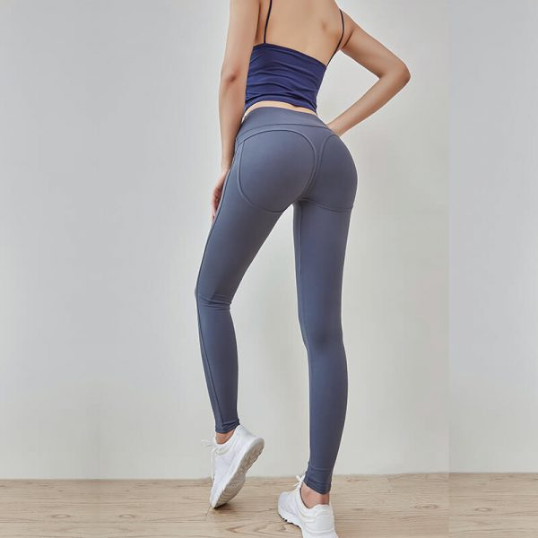 China affordable grey colored squat proof leggings wholesale - Affordable Squat Proof Leggings Wholesale - Custom Fitness Apparel Manufacturer