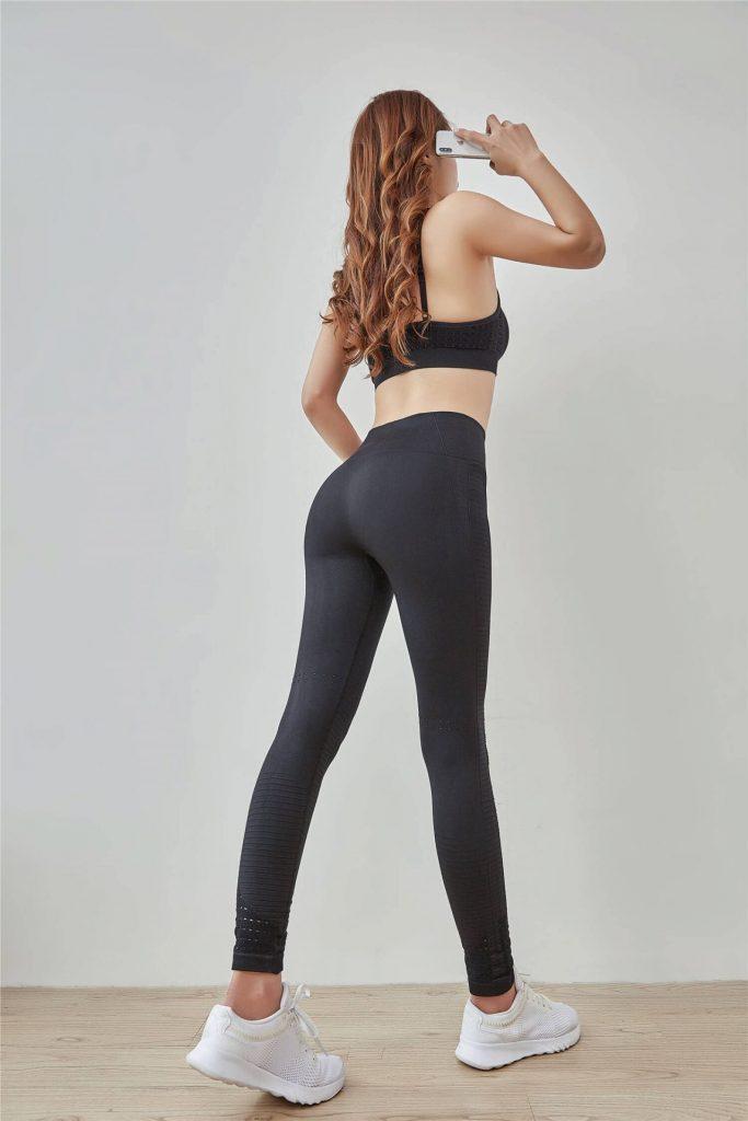China high waisted black spandex leggings wholesale - High Waisted Black Spandex Leggings Wholesale - Custom Fitness Apparel Manufacturer
