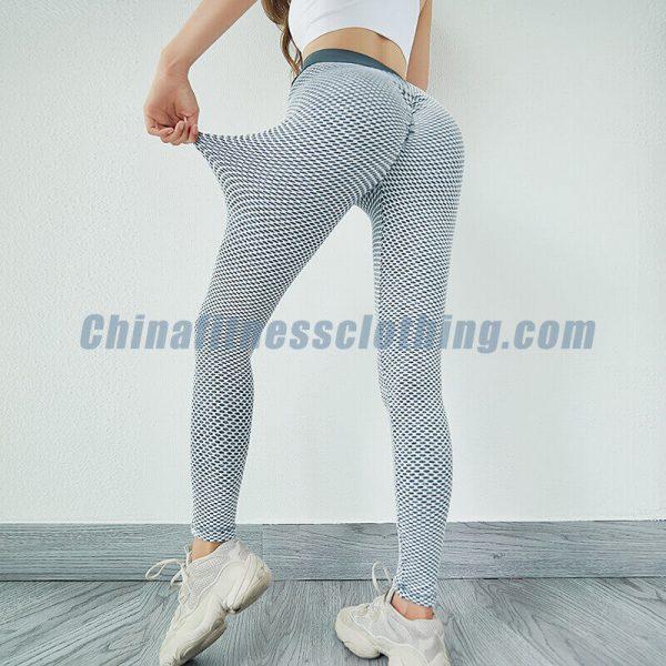 Elastic honeycomb leggings wholesale - Honeycomb Leggings Wholesale - Custom Fitness Apparel Manufacturer
