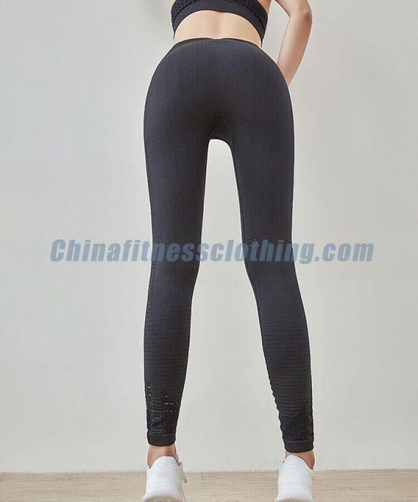 High waisted black spandex leggings wholesale suppliers - High Waisted Black Spandex Leggings Wholesale - Custom Fitness Apparel Manufacturer