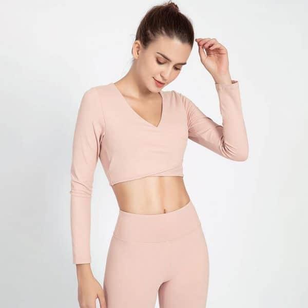 Light-pink-crop-tops-wholesale