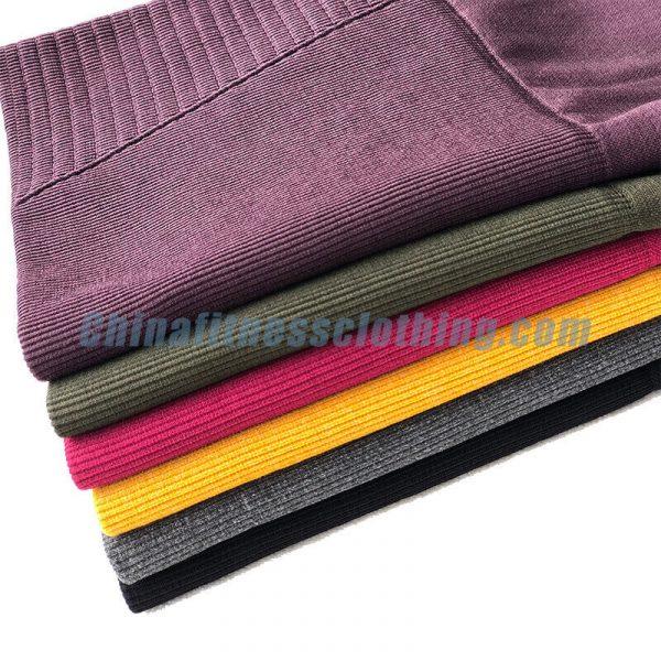 Multi color mesh capri leggings wholesale - Mesh Capri Leggings Wholesale - Custom Fitness Apparel Manufacturer