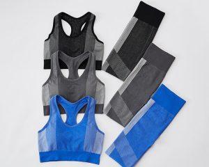 Padded push up sports bra and leggings set wholesale - Padded Push Up Sports Bra - Custom Fitness Apparel Manufacturer
