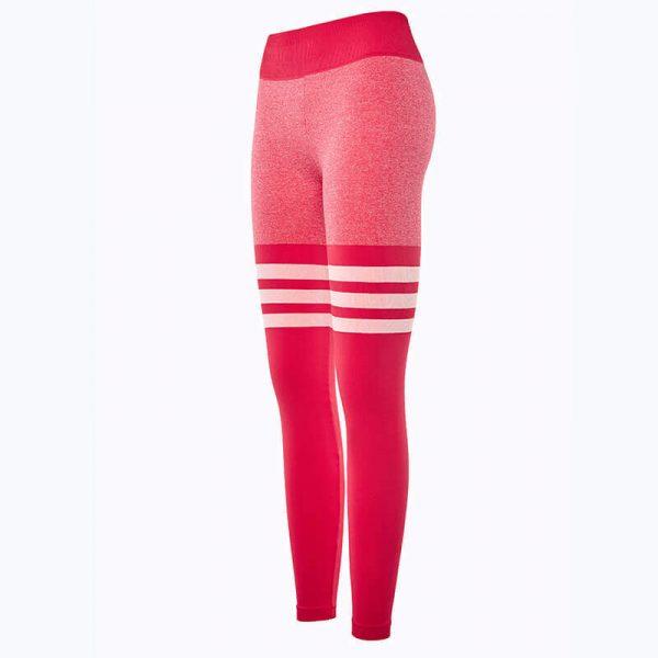 Pink-striped-leggings-wholesale