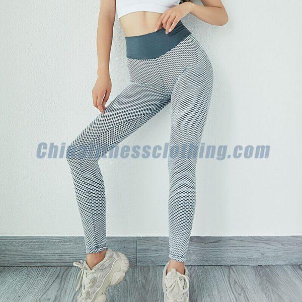 Slimming workout honeycomb leggings wholesale - Honeycomb Leggings Wholesale - Custom Fitness Apparel Manufacturer