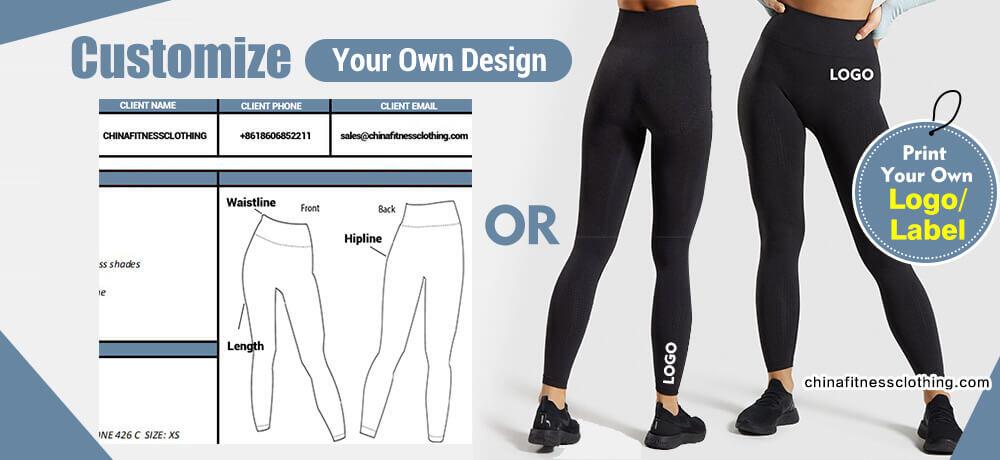 Types of custom fitness apparel 1 1 - 90 Nylon 10 Spandex Leggings Wholesale - Custom Fitness Apparel Manufacturer