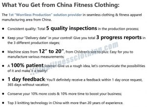 What You Get from Chinafitnessclothing 1 1 - New Sports Bra Wholesale - Custom Fitness Apparel Manufacturer