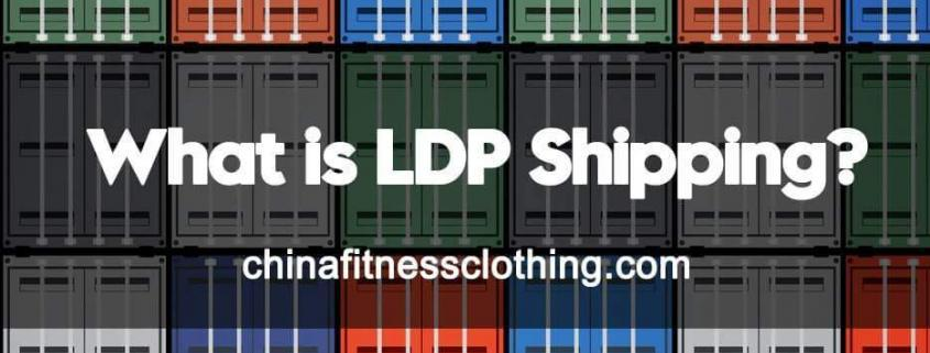 """What is LDP shipping? Do you know LDP shipping for Textile And Apparel Exports to the United States? LDP is the abbreviation of """"landed duty paid"""", and DDP is the abbreviation of """"delivered duty paid"""". LDP/DDP=FOB price + destination country tax + freight + customs clearance fees. The consignor is responsible for all costs and corresponding responsibilities, and the consignee only needs to wait for the goods to be received in the warehouse. All need to be delivered to the door. The entire process is from the factory to the US warehouse, including cargo transportation, insurance and US customs clearance, tax payment, and delivery. The US LDP shipping is equivalent to the US DDP shipping, and these two terms are often encountered when dealing with US customers. In an official sense, DDP requires the designated port of destination customs clearance company to do customs clearance, but LDP does not. Americans are often confused. What they say is that they want the supplier to complete the whole process. DDP is commonly used internationally, but Americans call it LDP more often. LDP shipping Why Have So Many American Customers Demanded LDP Terms for Trade in Recent Years? Many apparel companies have reported that recently, many American customers have requested that FOB shipping terms be changed to LDP shipping, because American customers want to fix their costs, reduce their risks, and conduct trade transactions in the most convenient way for them. They even want to reduce their own costs, and hope that exporters can supply them at low prices and deliver them to the door. Everyone in business wants to maximize profits and minimize risks. Therefore, American customers prefer the shipper to deliver goods directly to the door. Generally, buyers who want to do LDP shipping place a relatively large amount of orders. As long as the goods are not contraband and the goods and information are accurate, both China and the United States have formal double clearance, and there is n"""