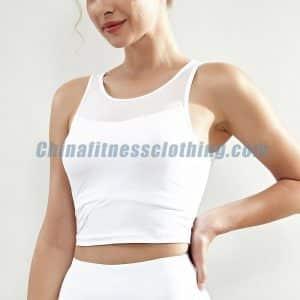 White-sleeveless-crop-top-wholesale