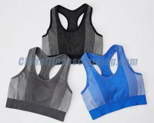 Wholesale padded push sports bra manufacturer - Padded Push Up Sports Bra - Custom Fitness Apparel Manufacturer