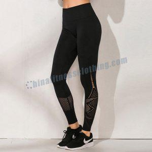 black-nylon-spandex-leggings-wholesale