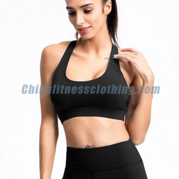 black push up workout bra wholesale - Push Up Workout Bra Wholesale - Custom Fitness Apparel Manufacturer