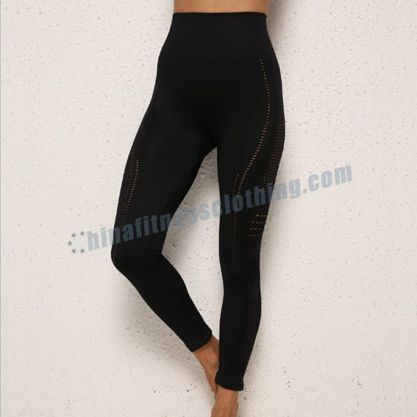 custom black mesh workout leggings bulk - Black Mesh Workout Leggings Wholesale - Custom Fitness Apparel Manufacturer