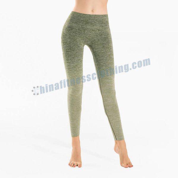 custom green ombre leggings wholesale - Green Ombre Leggings - Custom Fitness Apparel Manufacturer