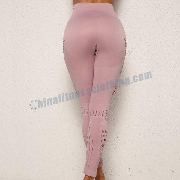 custom light pink workout leggings wholesale - Light Pink Workout Leggings - Custom Fitness Apparel Manufacturer