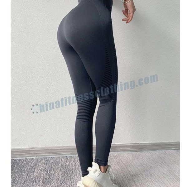 custom seamless yoga leggings wholesale - Seamless yoga leggings manufacturer - Custom Fitness Apparel Manufacturer