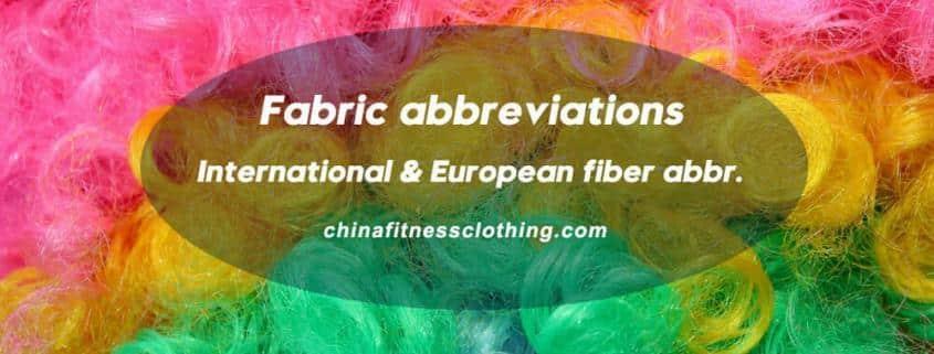fabric-abbreviations