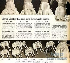 garter - The History of Underwear - Custom Fitness Apparel Manufacturer
