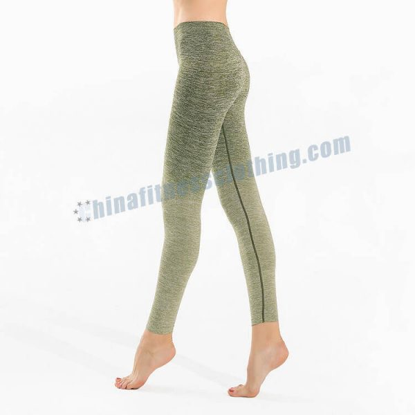 green ombre leggings manufacturer - Green Ombre Leggings - Custom Fitness Apparel Manufacturer