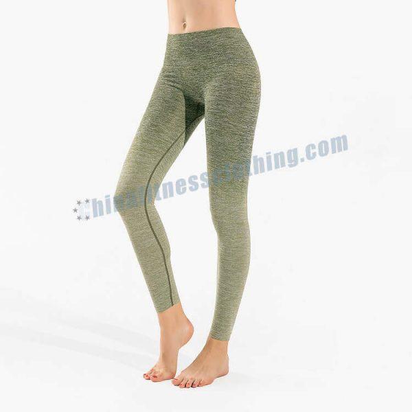 green ombre leggings wholesale - Green Ombre Leggings - Custom Fitness Apparel Manufacturer