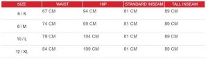 leggings size chart - Gray Workout Leggings Wholesale - Custom Fitness Apparel Manufacturer