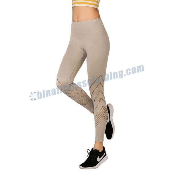 light grey workout leggings wholesale 1 - Light Grey Leggings Wholesale - Custom Fitness Apparel Manufacturer