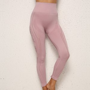 light-pink-workout-leggings-wholesale