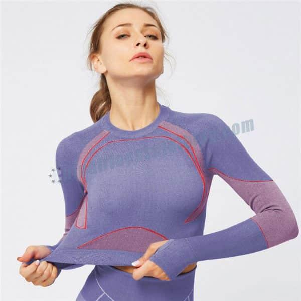 long sleeve crop tops manufacturers - Long Sleeve Crop Tops Wholesale - Custom Fitness Apparel Manufacturer