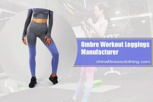 ombre workout leggings wholesale 1 - Ombre Workout Leggings Wholesale - Custom Fitness Apparel Manufacturer