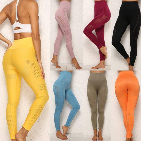 orange gym leggings manufacturers 1 - Orange Gym Leggings Wholesale - Custom Fitness Apparel Manufacturer