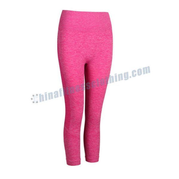 pink-ribbed-leggings-wholesale