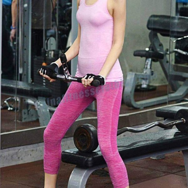 pink ribbed leggings wholesale manufacturers - Pink Ribbed Leggings Wholesale - Custom Fitness Apparel Manufacturer