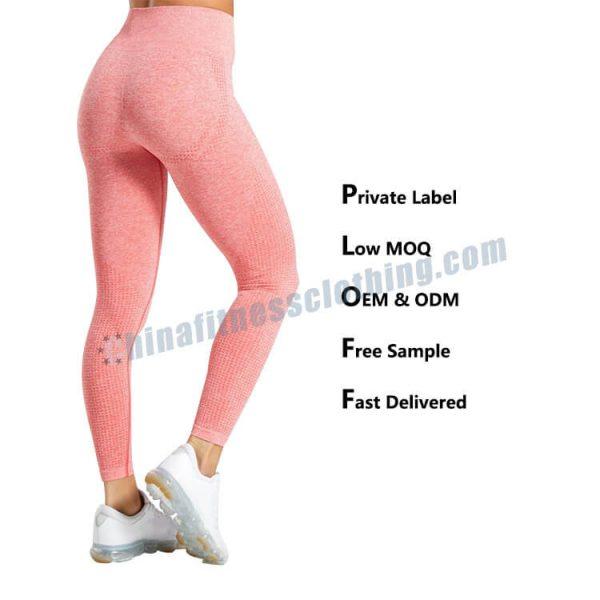pink womens leggings - Pink Leggings Womens - Custom Fitness Apparel Manufacturer