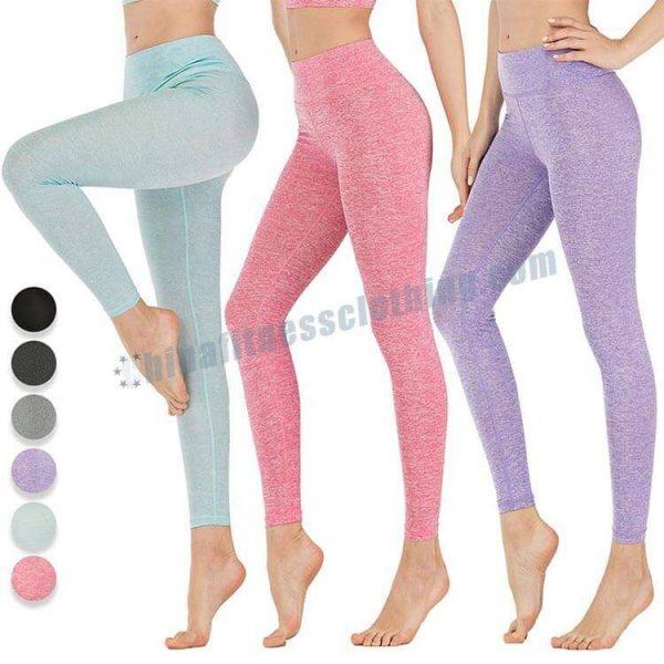 wholesale melange leggings - Melange Leggings Manufacturer - Custom Fitness Apparel Manufacturer
