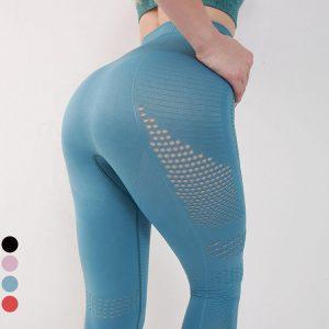 wholesale-womens-blue-leggings-manufacturer