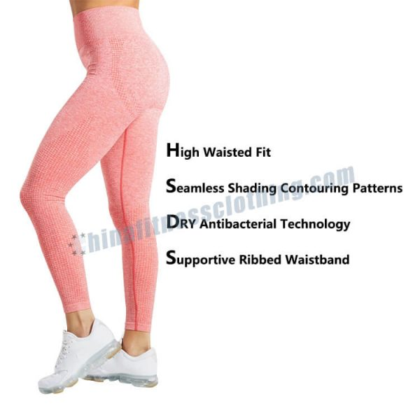 womens pink leggings - Pink Leggings Womens - Custom Fitness Apparel Manufacturer