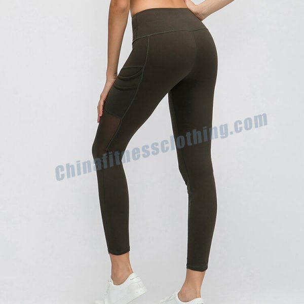 womens running leggings with phone pocket wholesale - Womens Running Leggings with Phone Pocket - Custom Fitness Apparel Manufacturer