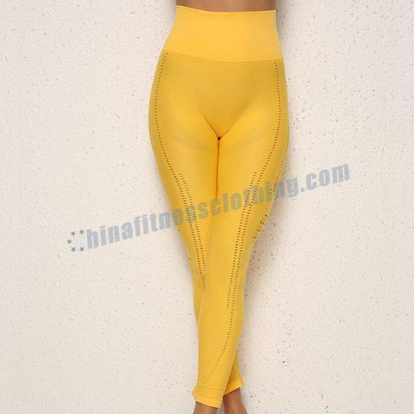 yellow yoga leggings manufacturers - Yellow Yoga Leggings Wholesale - Custom Fitness Apparel Manufacturer