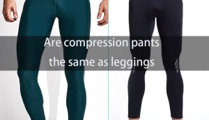 Are compression pants the same as leggings?
