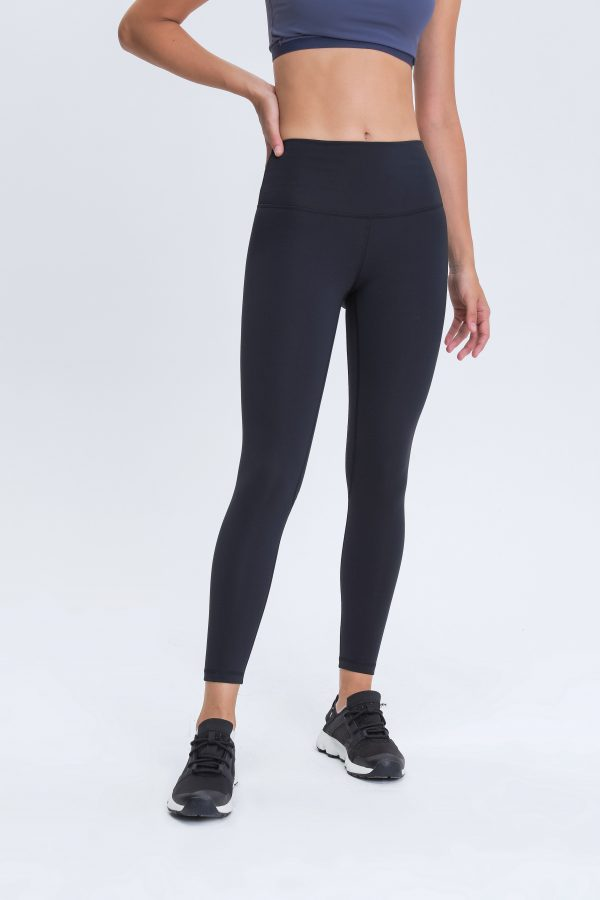 Black Gym Leggings Womens Wholesale 1 scaled - Black Gym Leggings Womens Wholesale - Custom Fitness Apparel Manufacturer