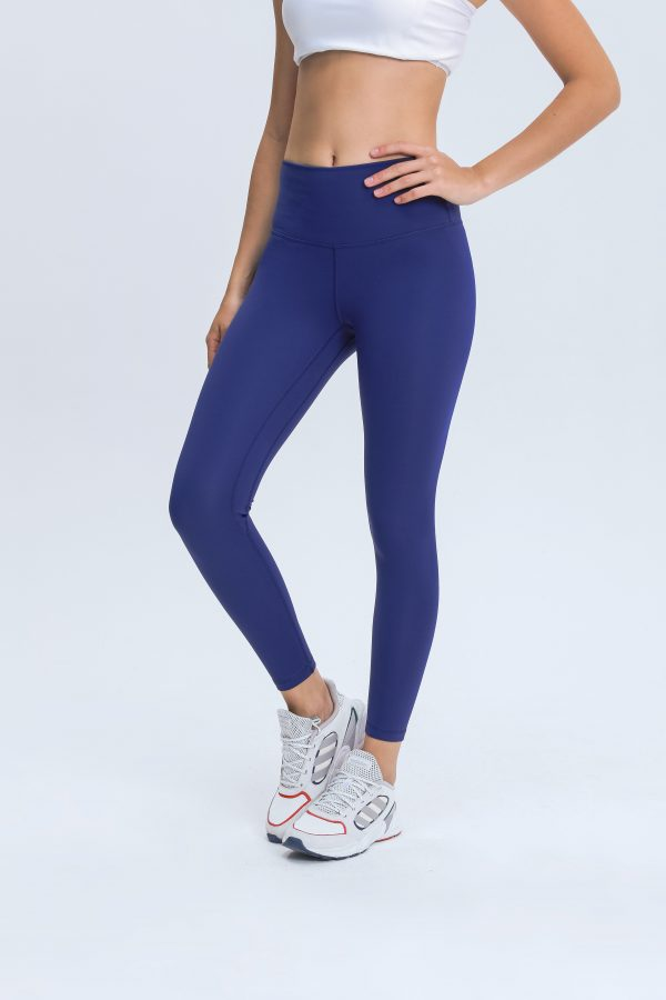 Blue Leggings Wholesale2 scaled - Blue Leggings Wholesale - Custom Fitness Apparel Manufacturer