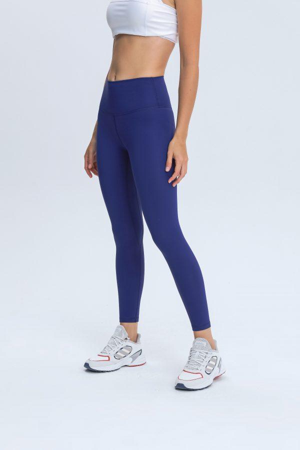 Blue Leggings Wholesale3 scaled - Blue Leggings Wholesale - Custom Fitness Apparel Manufacturer