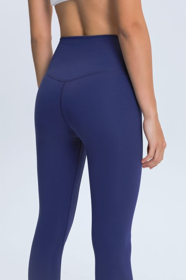 Blue Leggings Wholesale4 scaled - Blue Leggings Wholesale - Custom Fitness Apparel Manufacturer